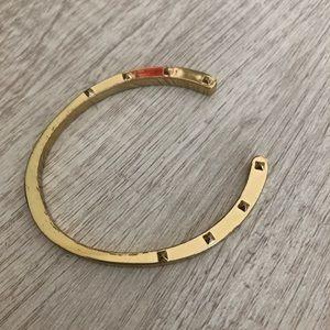 Gold Horseshoe Bracelet